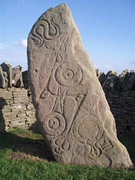 Serpent stone Picts people